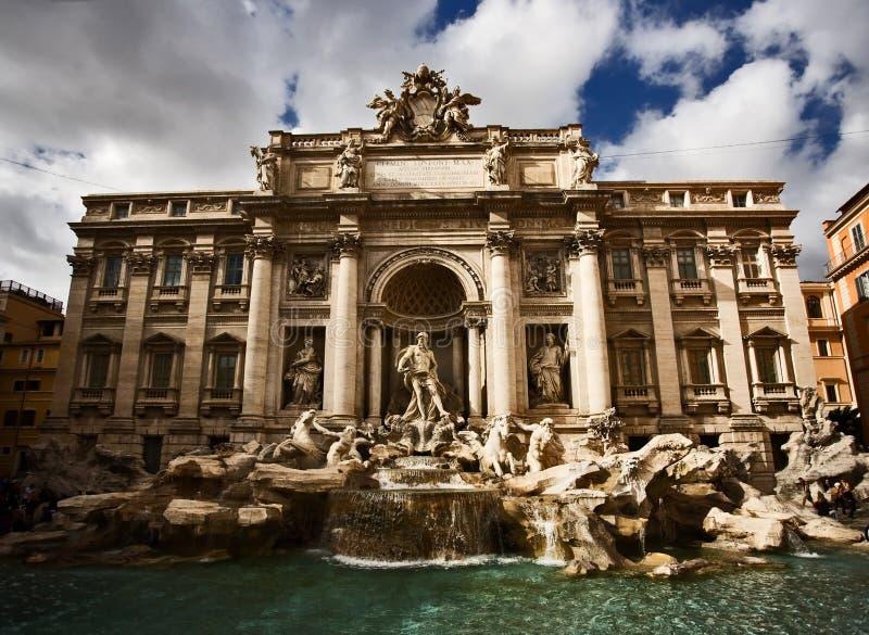 Fontana di Trevi, Rom, Italien lizenzfreie stockfotografie