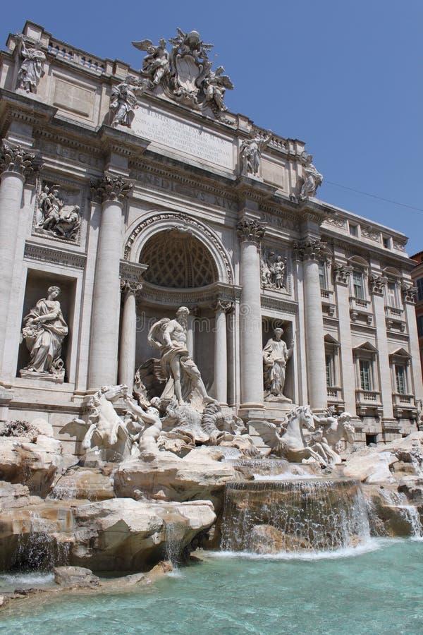 Fontana di Trevi, Roma fotografie stock libere da diritti