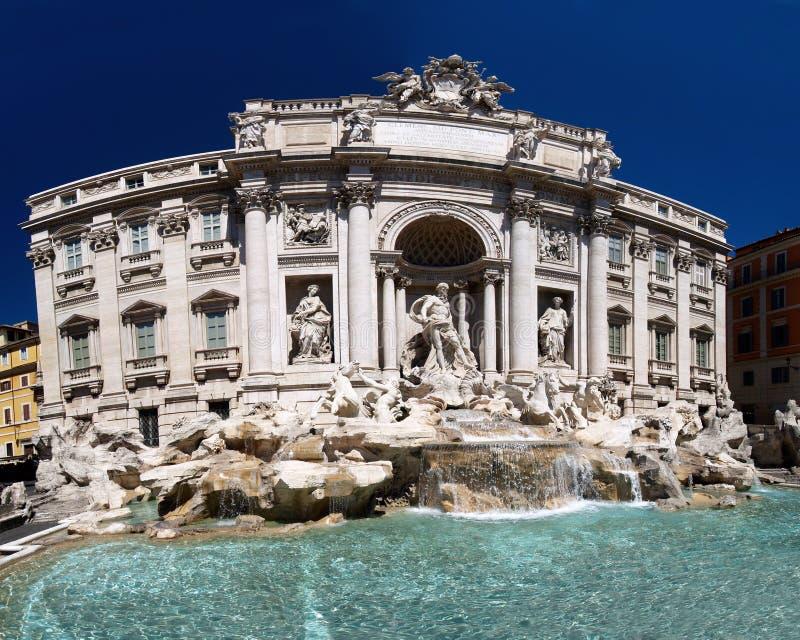 Fontana di Trevi, Roma foto de stock royalty free