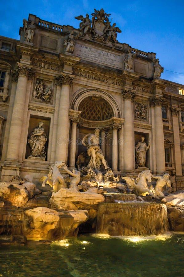 Fontana di Trevi, Roma, Italy foto de stock royalty free