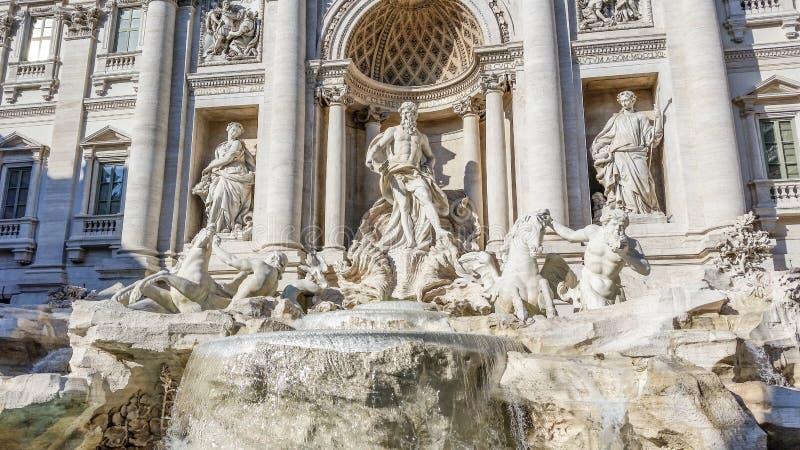Fontana Di Trevi - Rome stock afbeeldingen