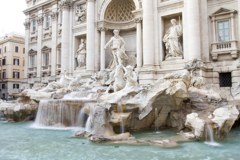 Fontana Di Trevi, Rome stock fotografie