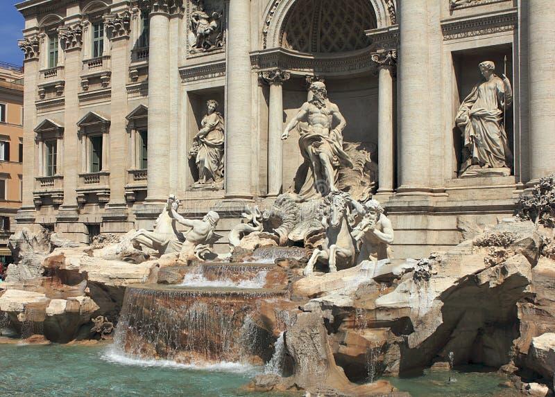 Fontana Di Trevi in Rome stock fotografie