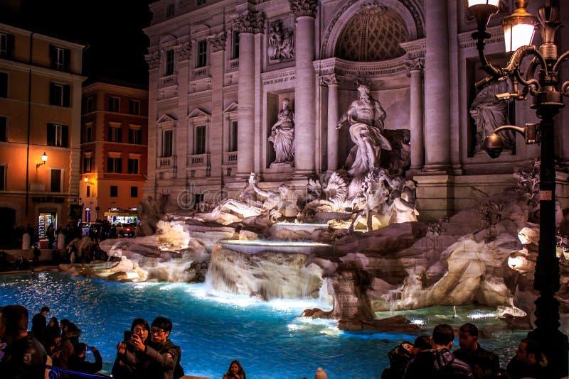 Fontana di Trevi Rome, Roma image stock