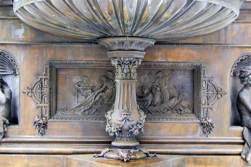Fontana di Tyler Davidson fotografie stock libere da diritti