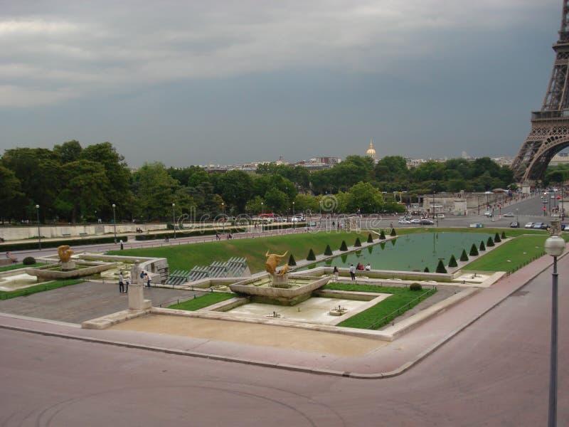 Fontana di Varsavia immagine stock