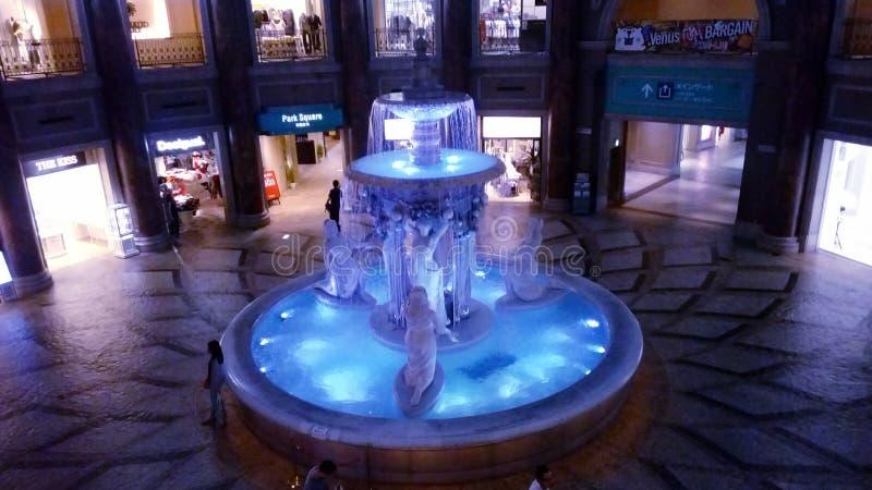 Fontana di Venus Fort immagini stock