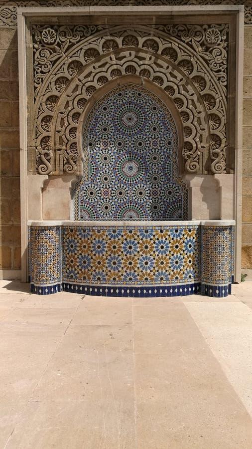 Fontana marocchina immagine stock