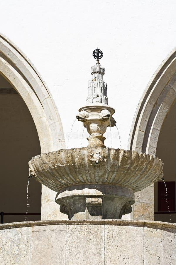 Fontana nel Portogallo fotografie stock libere da diritti