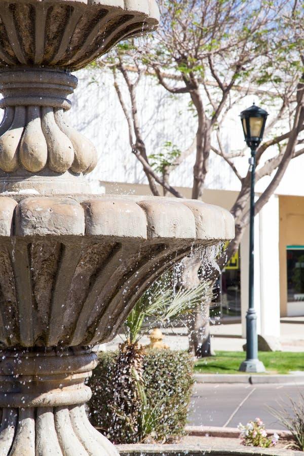 Fontana in Yuma Arizona fotografia stock
