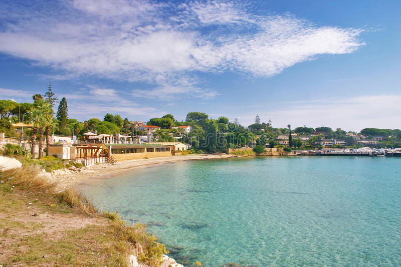 Download Fontane Bianche Beach In Sicily Stock Image - Image: 27031593
