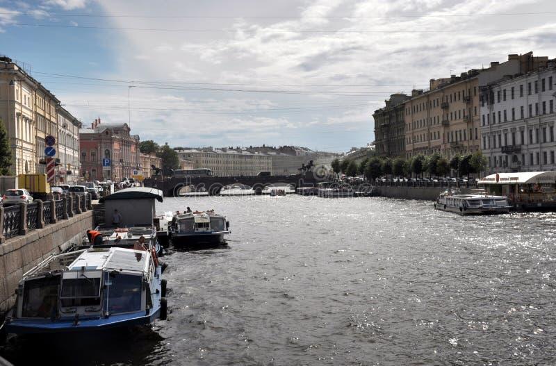 Download Fontanka flod redaktionell foto. Bild av petersburg, turism - 78730965