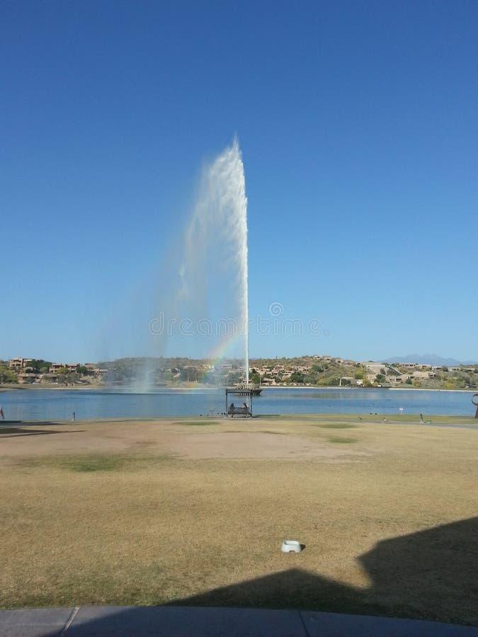 Fontann wzgórzy fontanna zdjęcia stock