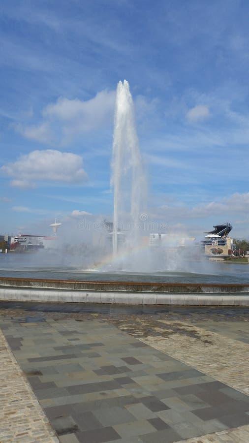fontanna zdjęcie stock