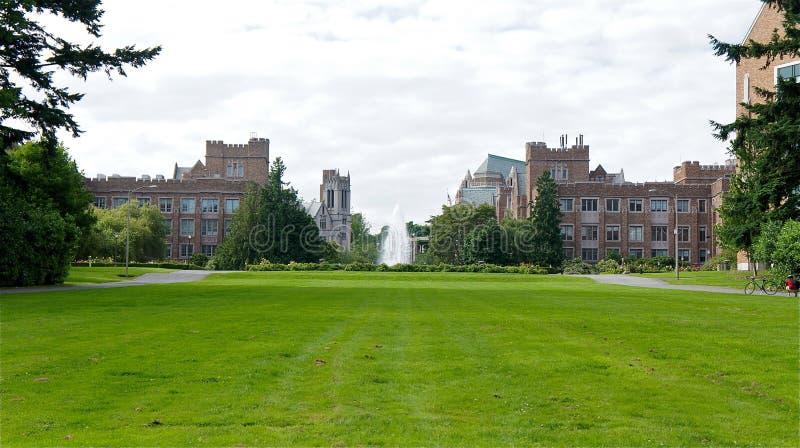 fontanna amerykański uniwersytet zdjęcia stock