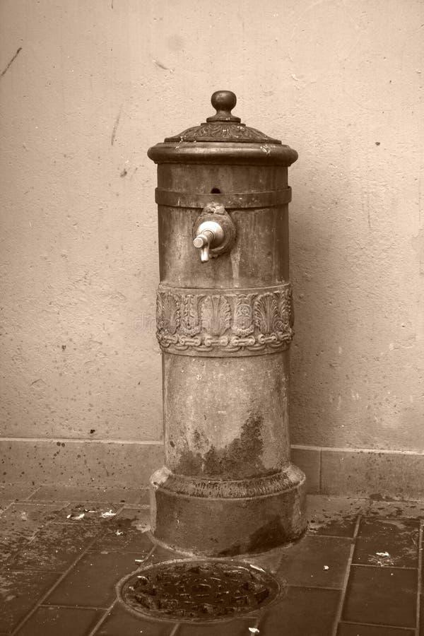 fontanna chodnika wody obrazy royalty free