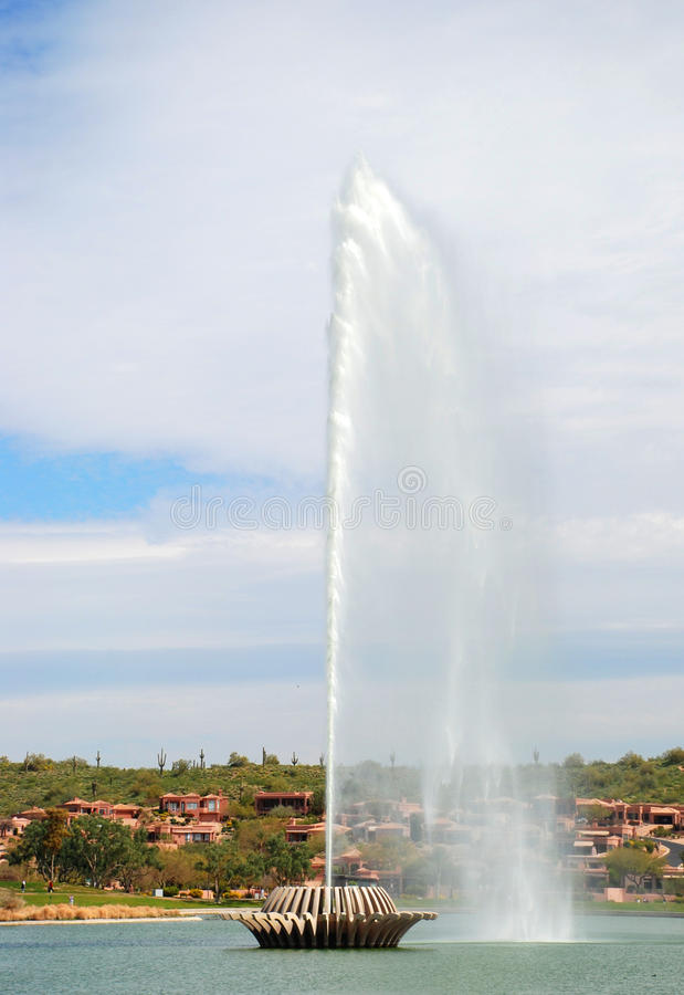 fontanna gigant fotografia stock