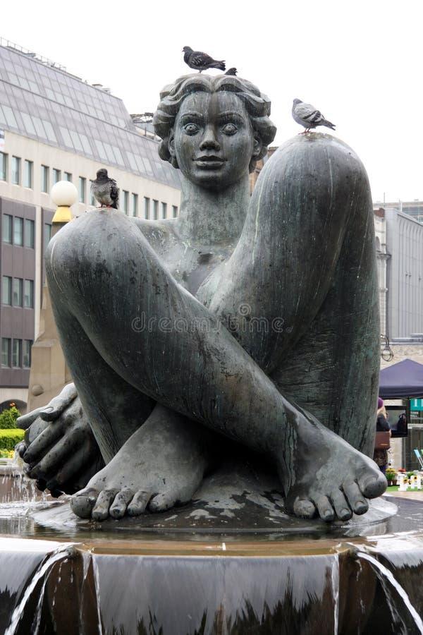 fontanna królewskiej fotografia stock