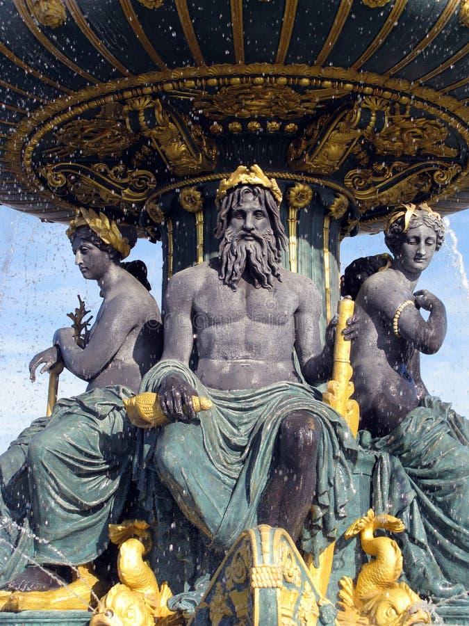fontanna Paris zdjęcie stock