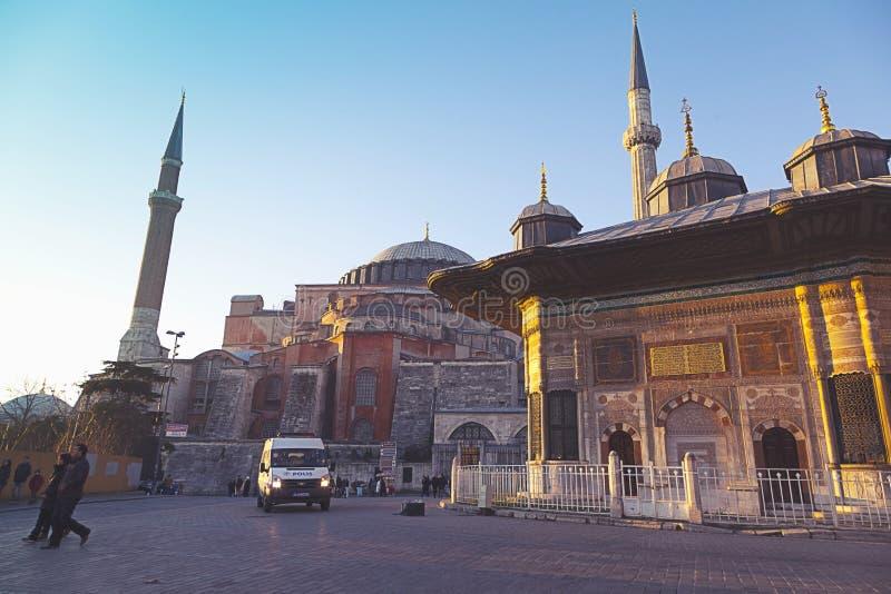 Fontanna sułtan Ahmet III zdjęcie stock
