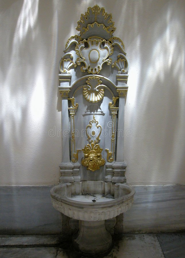 fontanna topkapi indyk haremowy pałacu obrazy royalty free