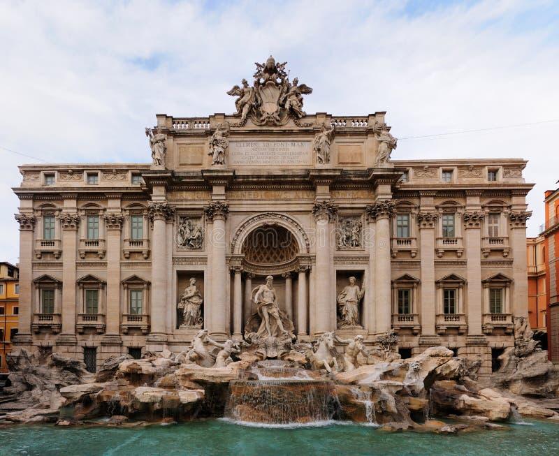 fontanny Rome trevi obrazy royalty free