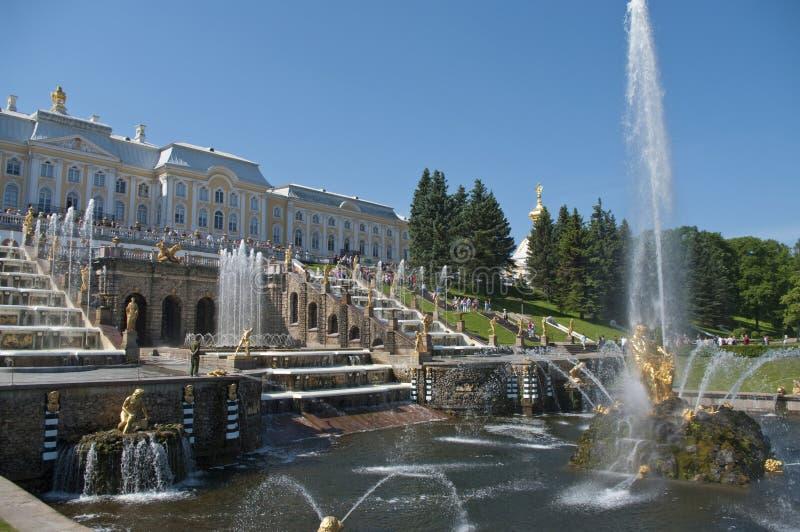 fontanny Russia lato obrazy royalty free