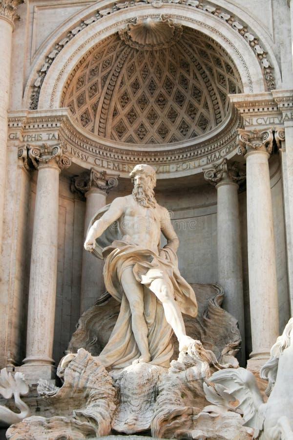 fontanny trevi Rzymu obraz royalty free