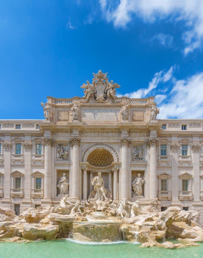 fontanny trevi Rzymu zdjęcia stock