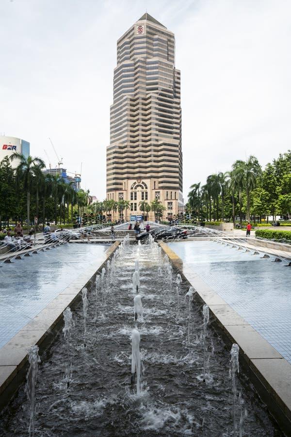 Fontanny w Kuala Lumpur zdjęcie stock