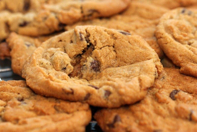 Fonte chaude de biscuits dans votre bouche photo libre de droits