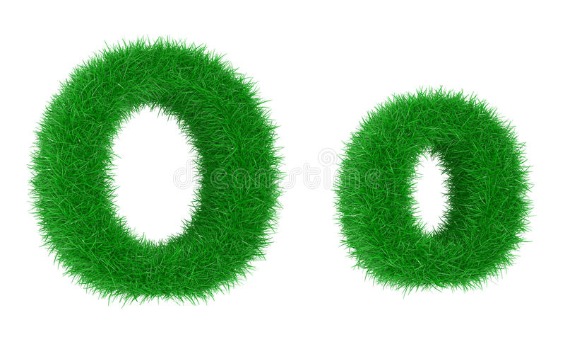 Fonte d'herbe illustration libre de droits