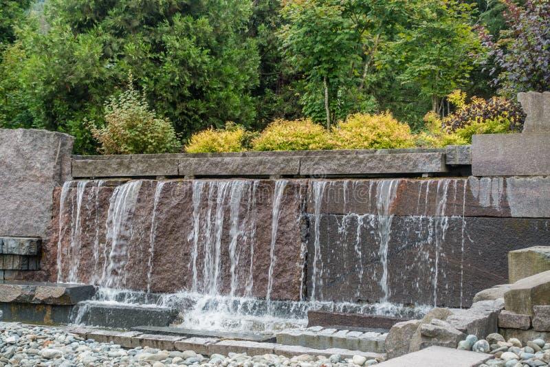 Fonte 6 da cachoeira imagens de stock