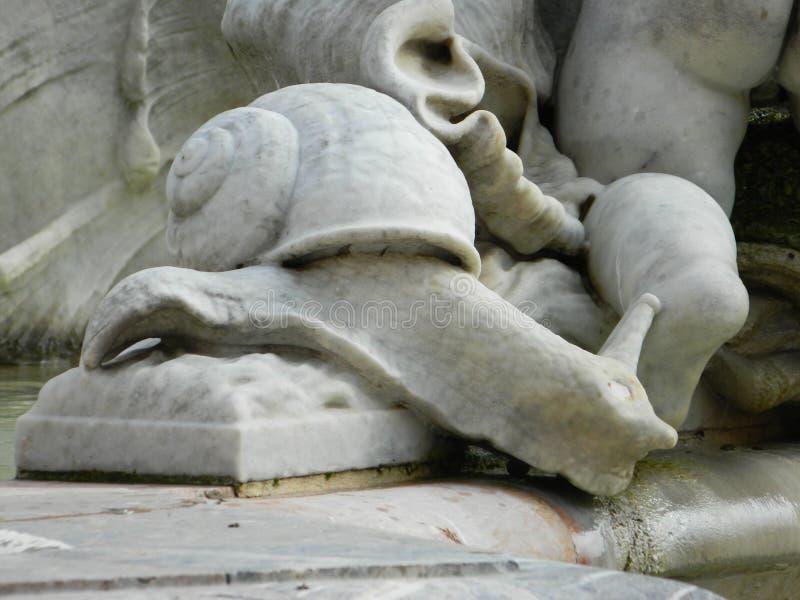 Fonte de Netuno, Roma fotografia de stock royalty free
