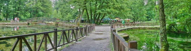 Fonte de rio Bosna fotos de stock royalty free