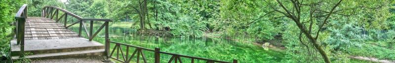 Fonte de rio Bosna fotografia de stock royalty free