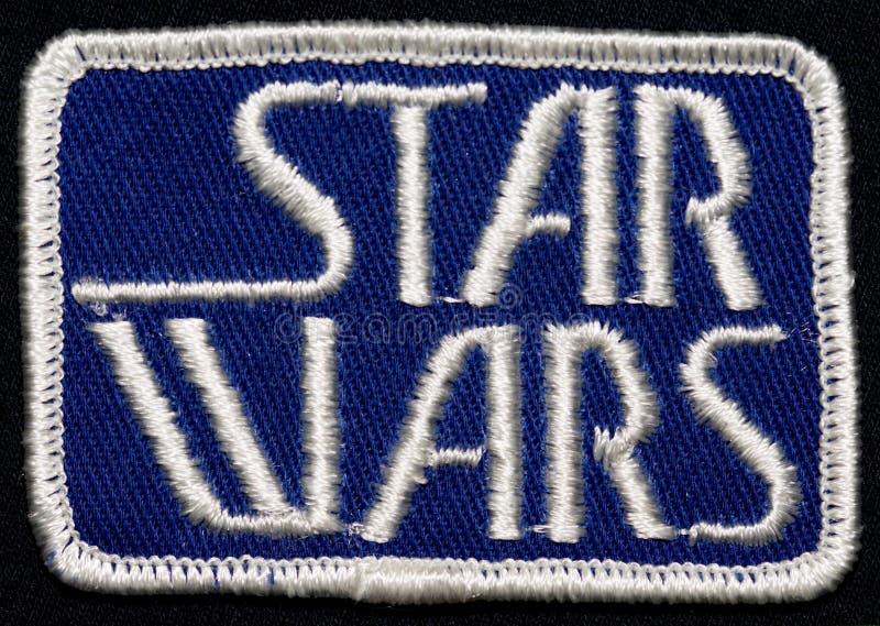 Fonte de Star Wars et correction 1976 d'équipage photo stock