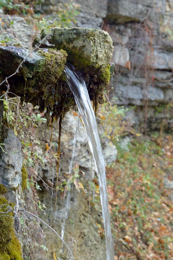 Fonte di acqua potabile fotografie stock