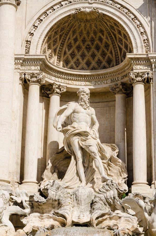 Fonte do Trevi, Roma, Italia fotografia de stock