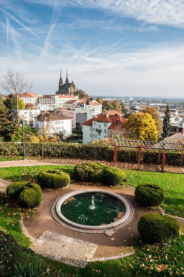 Fonte em Brno imagem de stock