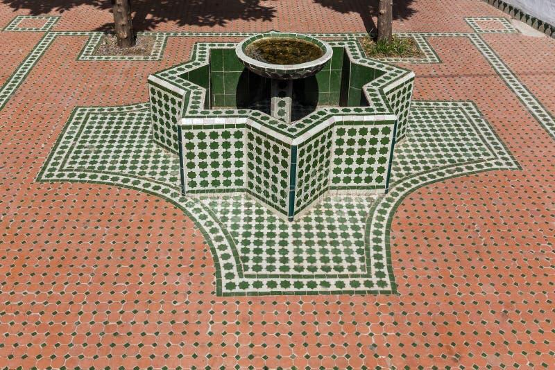 Fonte marroquina fotos de stock royalty free
