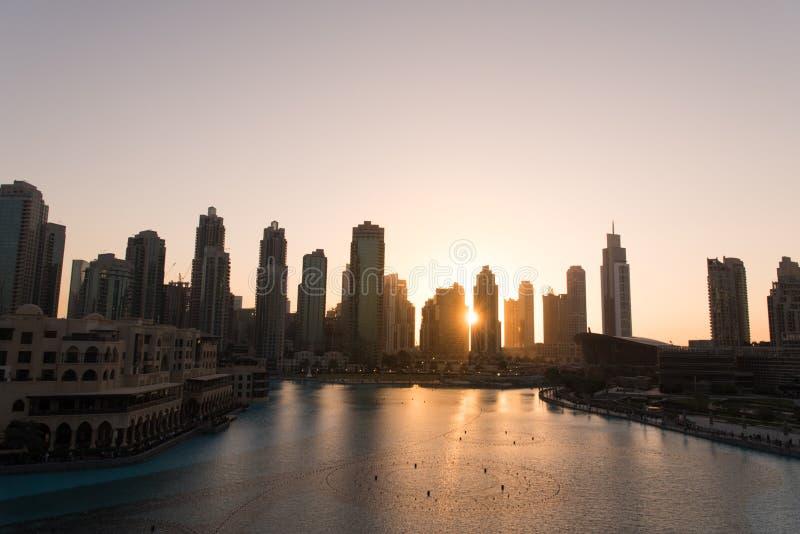 Fonte musical em Dubai fotos de stock royalty free