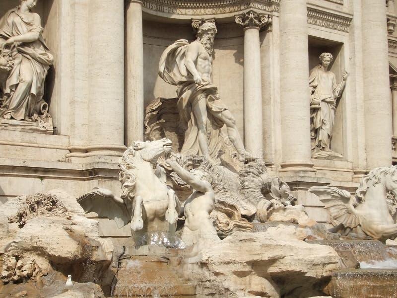 Fonte Roma do Trevi fotografia de stock royalty free