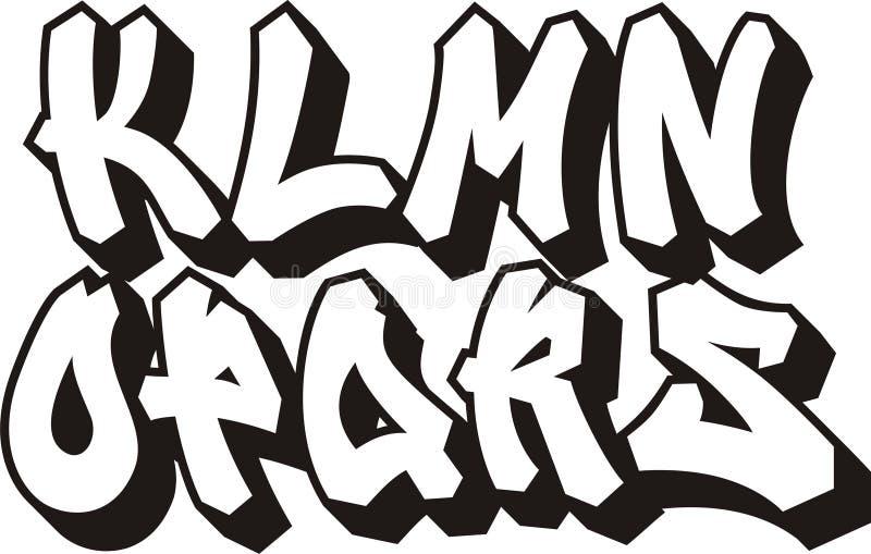 Fonte tipografica dei graffiti (parte 2)