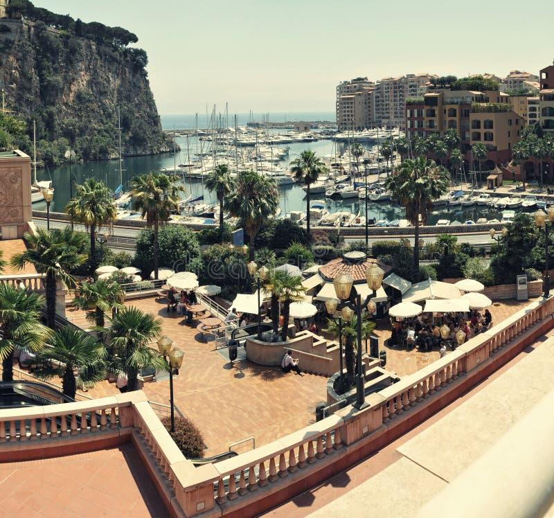 Fonte tipografica Vieil, Monaco fotografia stock libera da diritti