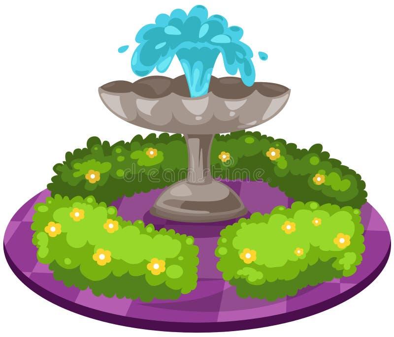 fontein stock illustratie