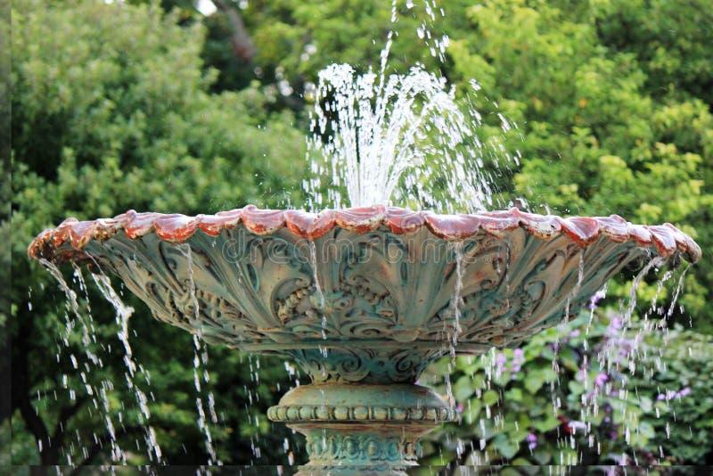 Fontein, Adams Park royalty-vrije stock foto's