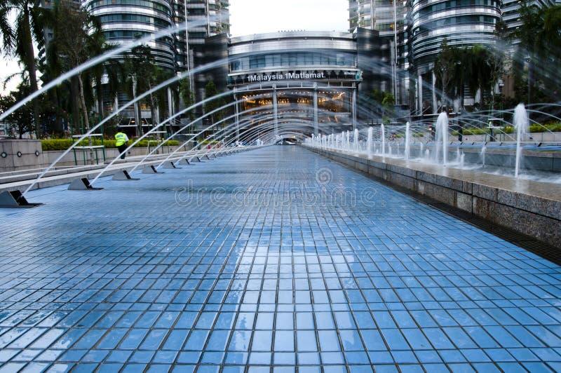 Fontein - Maleisië stock foto's