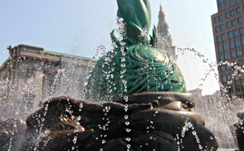 Fontein van het Eeuwige Leven, Cleveland, Ohio royalty-vrije stock foto