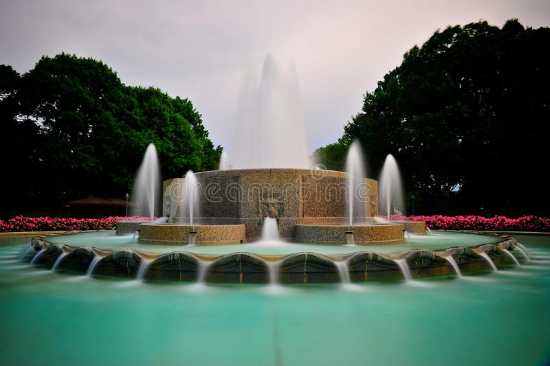 Fontein in Washington DC royalty-vrije stock afbeeldingen